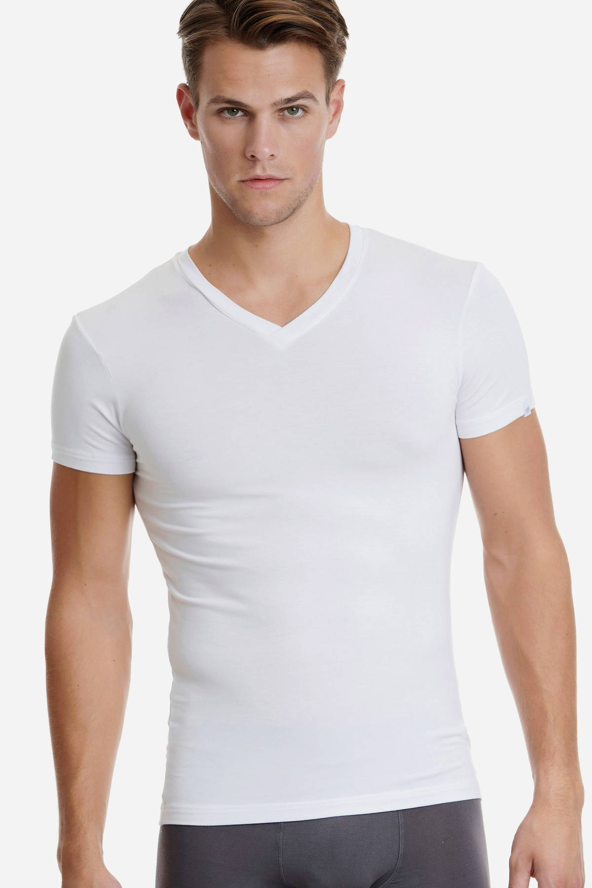 ΑΝΔΡΙΚΟ T-SHIRT V-NECK BAMBOO